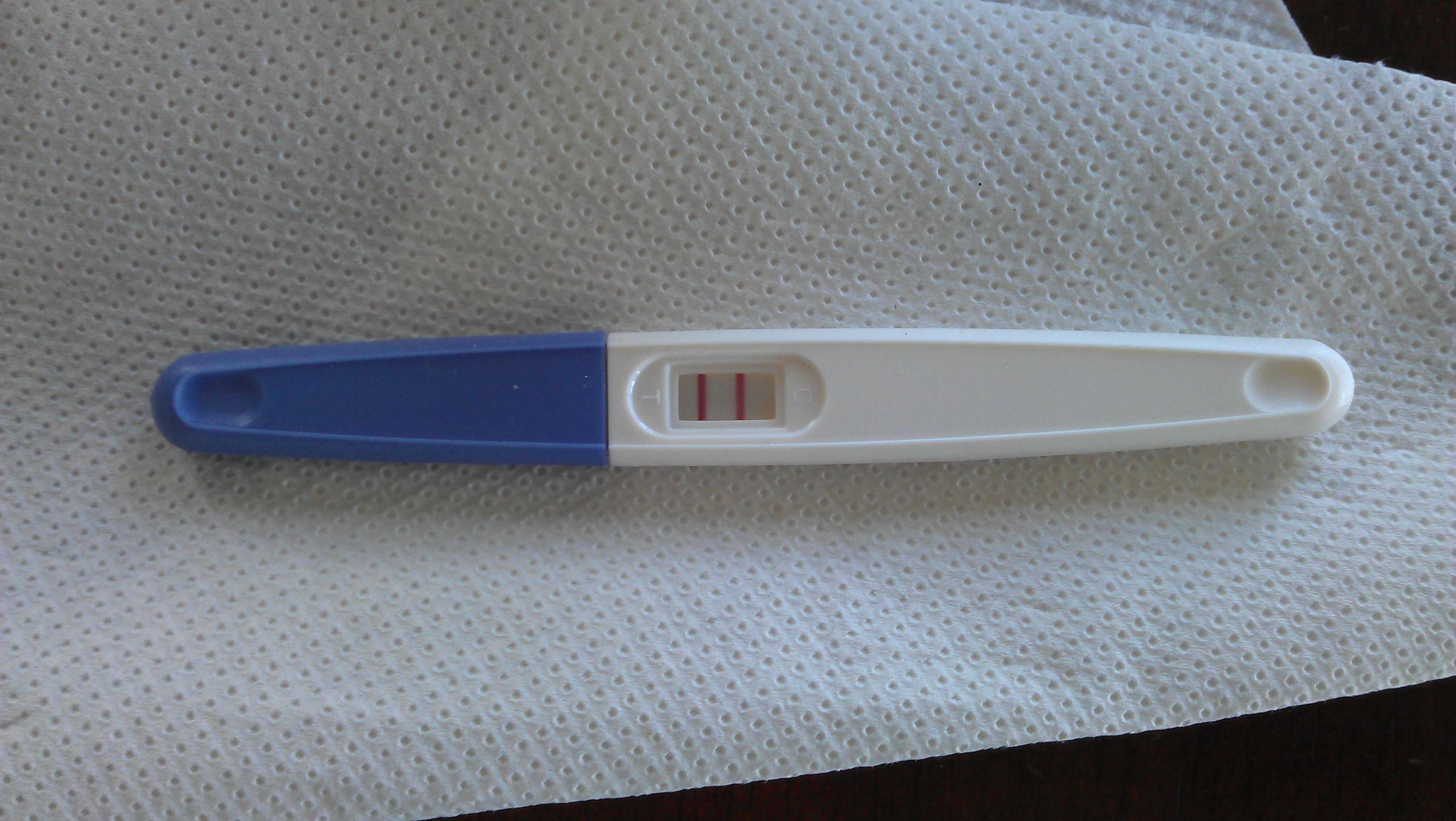 Graviditetstest positiv